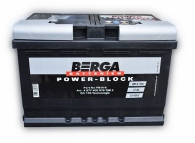 BERGA 77AH