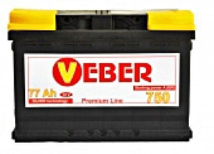 VEBER 77AH PREMIUM LINE